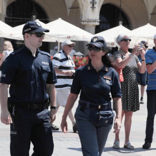 Małopolscy policjanci czuwają nad bezpieczeństwem podczas Mistrzostw Europy UEFA EURO U21
